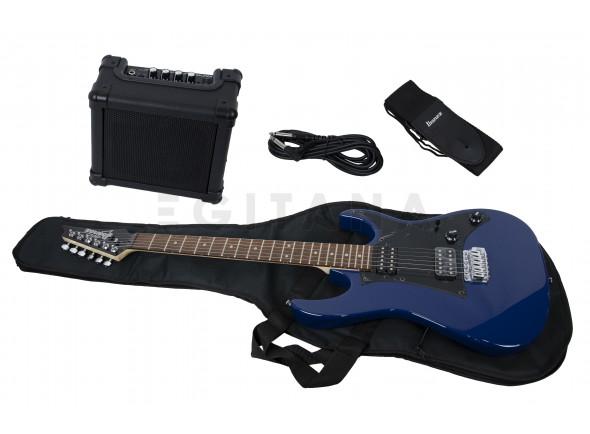 Pack Guitarra Elétrica/Packs de guitarra  Ibanez IJRX20-BL Jumpstart Set B-Stock