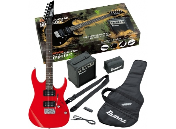 Packs de guitarra  Ibanez Jumpstart Pack-Red