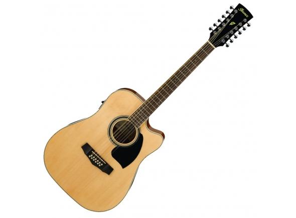 Guitarras acústicas de 12 cordas Ibanez PF1512ECE-NT