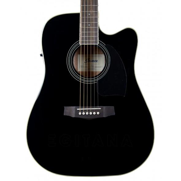 Guitarras Dreadnought Ibanez PF15ECE-BK