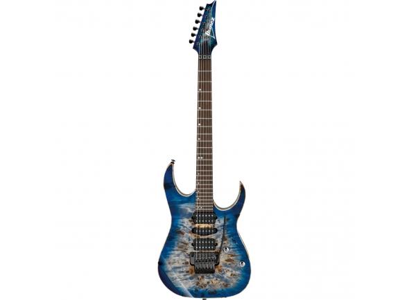Outros formatos Ibanez Premium RG1070PBZ-CBB Cerulean Blue Burst