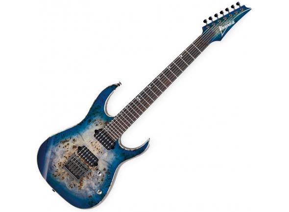 Guitarras de 7 cordas Ibanez RG1027PBF-CBB Premium