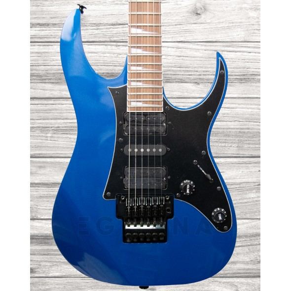 Guitarras formato ST Ibanez RG550DX Laser Blue