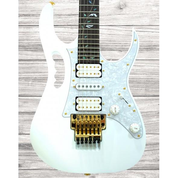 Outros formatos Ibanez Steve Vai Signature JEM7V White