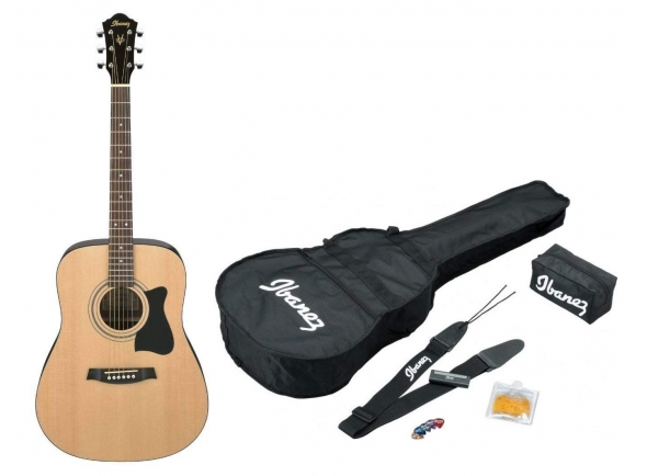 Guitarras Dreadnought Ibanez V50NJP-NT Jam Pack