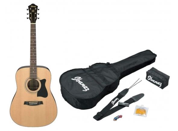 Conjuntos de guitarra acústica Ibanez V50NJP-NT Jam Pack