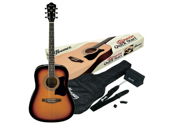 Guitarras Dreadnought Ibanez V50NJP-VS Jam Pack