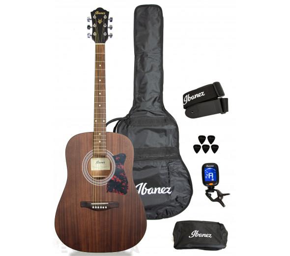 Conjuntos de guitarra acústica Ibanez V54NJP-OPN Set