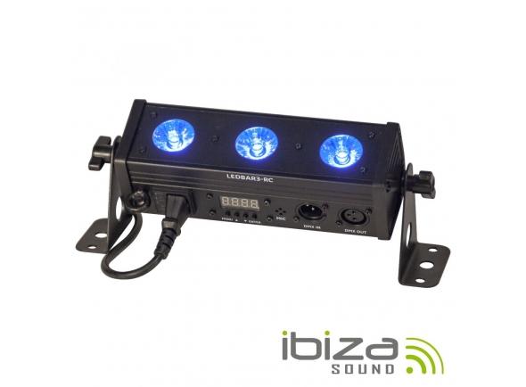 Barra LED/Barra LED Ibiza Barra de Led's com Strobe RGBW 8W