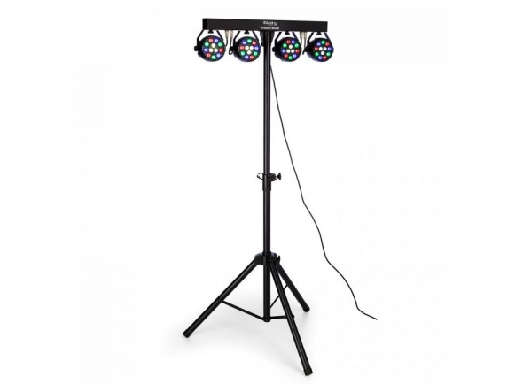 Projector LED PAR Ibiza DJLIGHT80LED