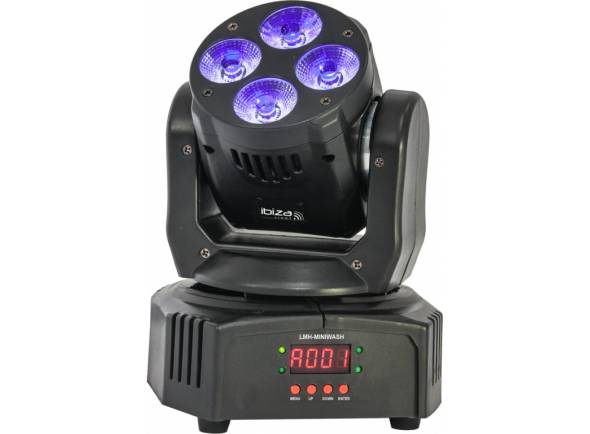 Moving Head LED/Moving Heads LED Ibiza LMH-MINIWASH