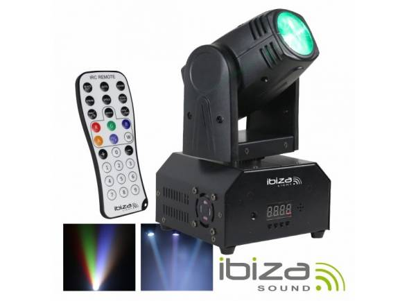 Moving Head LED/Moving Heads LED Ibiza LMH250-RC
