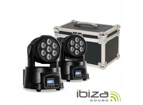 Moving Head LED/Moving Heads LED Ibiza LMH350LED-2FC