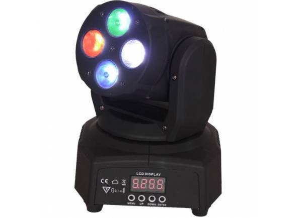 Moving Head LED/Moving Heads LED Ibiza LMH350RGBW-MINI