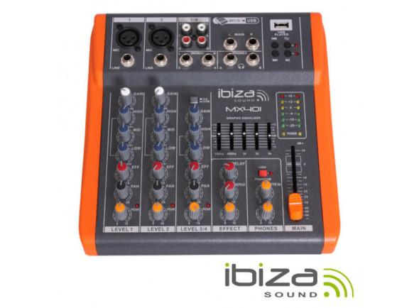 Clubmixer Ibiza  Mesa de Mistura MX801 Black Orange