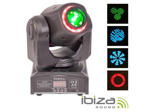 Moving Heads LED Ibiza MHSPOT30-FX