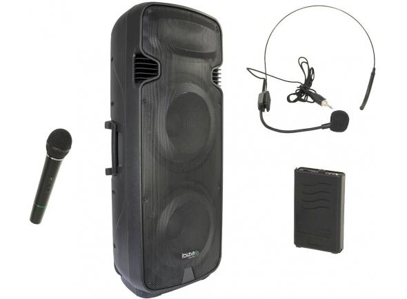 Sistemas Portáteis com Bateria Ibiza PORT 238 VHF-BT B-Stock