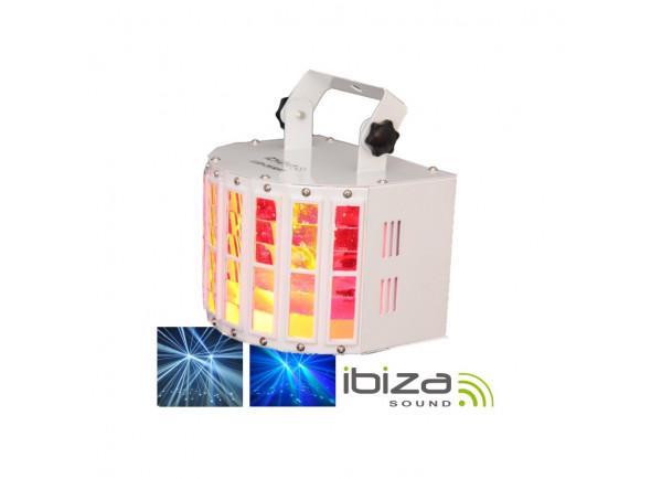 Projector LED PAR Ibiza  Projector Luz com 2 leds RGBW 10W DMX MIC 30W