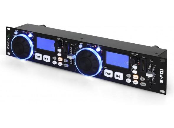 Leitores DJ USB Ibiza Sound iDJ2 Doble lector USB/SD