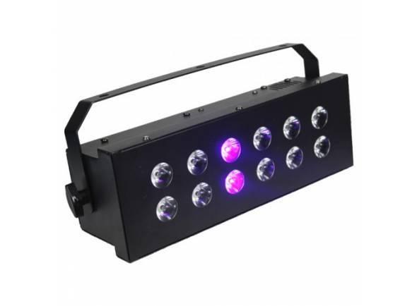 Estroboscópio/Estroboscópio Ibiza STROBE12.3LED-UV