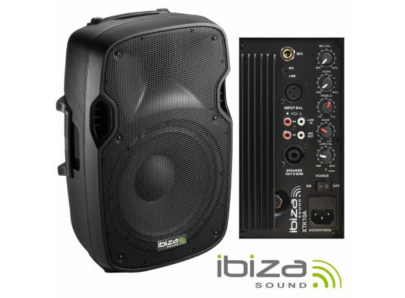 Colunas Amplificadas Ibiza XTK10A B-Stock
