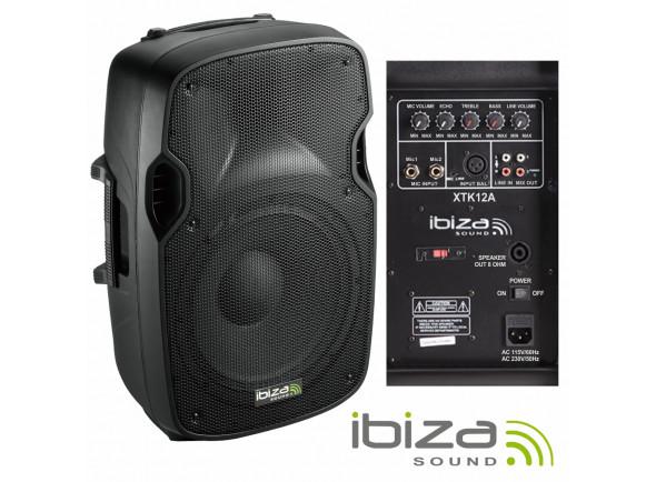Colunas Amplificadas/Colunas Amplificadas Ibiza XTK12A B-Stock