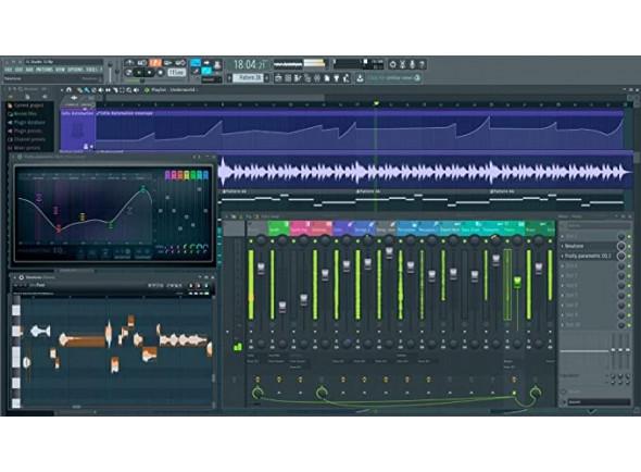 Sequenciador com suporte de áudio limitado (download)/Software de sequenciação Image-Line FL Studio Fruity Edition