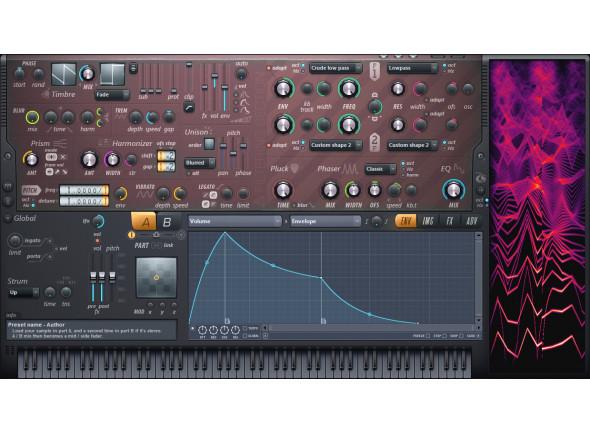 Sintetizador Virtual (download)/Software de sequenciação Image-Line   Harmor