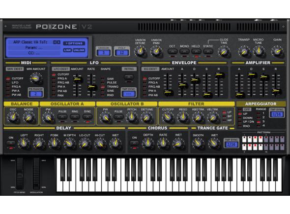 Sintetizador Virtual (download)/Software de sequenciação Image-Line   Poizone