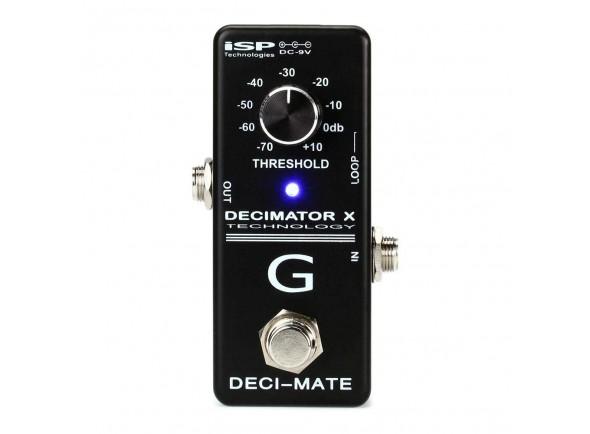 Pedal de Efeito Noise Gate/Outros efeitos para guitarra elétrica Isp Technologies DECI-MATE Pedal Decimator