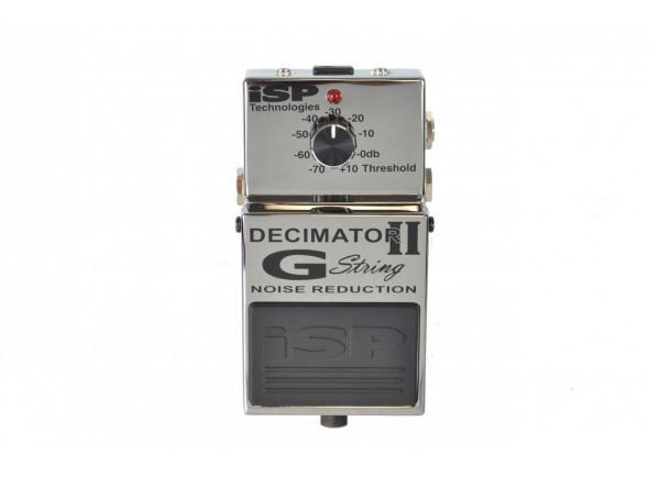 Pedal de Efeito Noise Gate/Outros efeitos para guitarra elétrica Isp Technologies Decimator G-String Pedal V-II