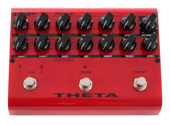 Pedal de Efeito Preamp/Outros efeitos para guitarra elétrica Isp Technologies Theta Preamplifier