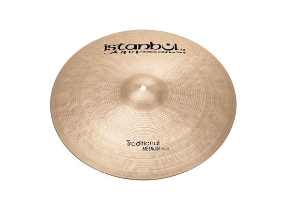 Pratos Crash Istanbul Agop 16'' Traditional Medium Crash Cymbal