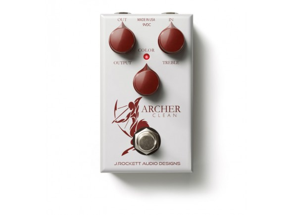 Pedal de Efeito Booster/Outros efeitos para guitarra elétrica J. Rockett Audio Designs Archer Clean