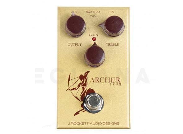 Pedal de Efeito Overdrive/Outros efeitos para guitarra elétrica J. Rockett Audio Designs Archer Ikon