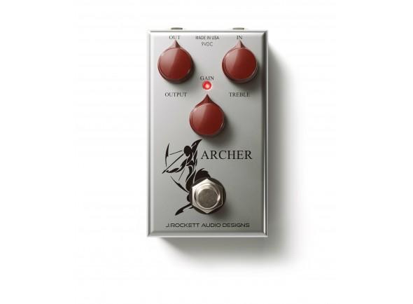 Pedal de Efeito Overdrive/Outros efeitos para guitarra elétrica J. Rockett Audio Designs Archer