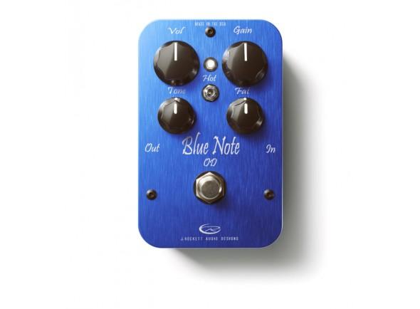 Pedal de Efeito Overdrive/Pedal de distorção J. Rockett Audio Designs Blue Note