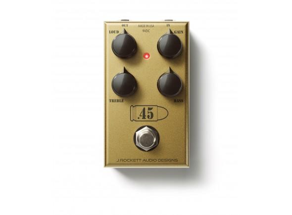 Pedal de Efeito Overdrive/Pedal de distorção J. Rockett Audio Designs Rockett 45 Caliber
