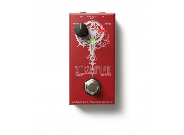 Pedal de Efeito Booster/Outros efeitos para guitarra elétrica J. Rockett Audio Designs Steampunk Red