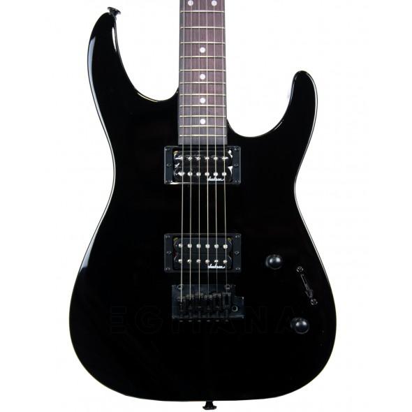 Guitarras formato ST Jackson JS11 Dinky AH BLK