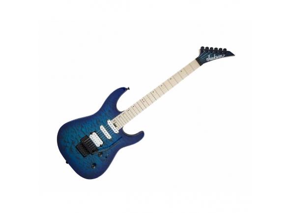 Guitarras formato ST Jackson Pro Series Dinky DK3QM Chlorine Burst