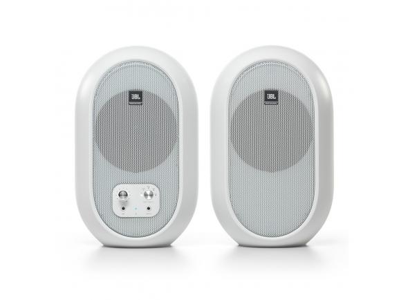 Monitores de estúdio activos JBL 104-BT Bluetooth Reference Monitors, White