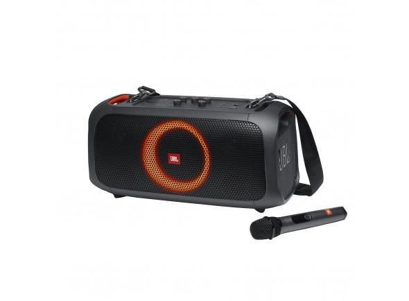 Sistemas Portáteis com Bateria JBL  Hifi Party Box Go