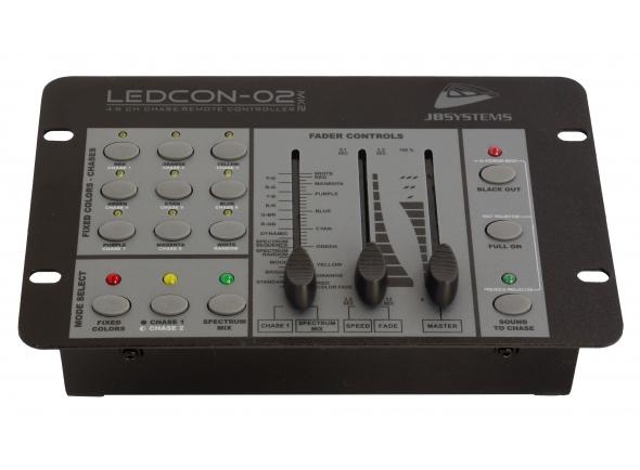 Mesa de controlo de luz DMX/Controlador DMX JBSystem LEDCON-02 Mk2