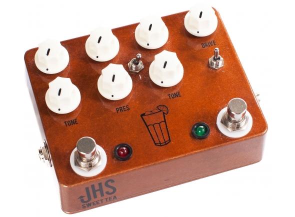 Outros efeitos para guitarra elétrica JHS Sweet Tea V3