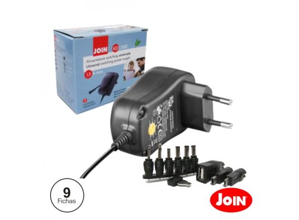 Diversos Join Alimentador Compacto Comutado 3-12V 1.5A 18W