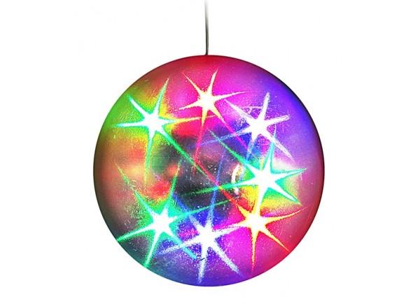 Bola de espelhos/Bola de Espelhos Karma Bola de Efeitos 3D Estrelas 10cm