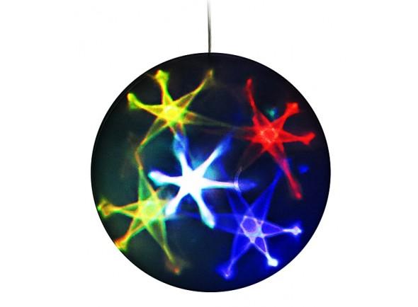 Bola de espelhos/Bola de Espelhos Karma Bola de Efeitos 3D Estrelas 20cm