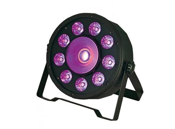 Projetor de Efeitos /Projector LED PAR Karma Projector Efeitos LED 9x 10W RGBW + 1x 30W RGB DMX