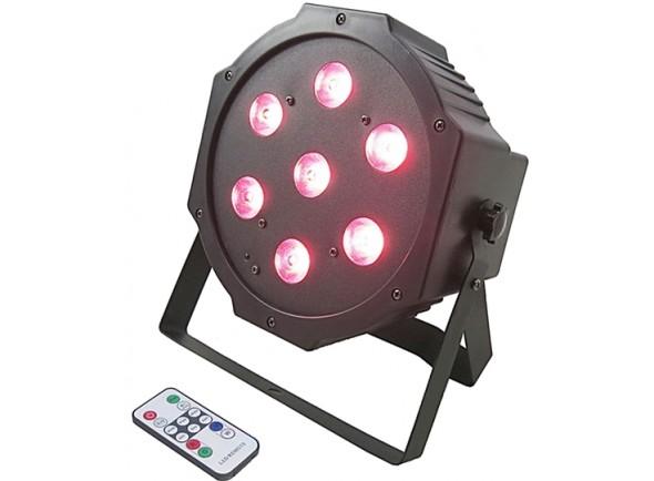Projetor de Efeitos /Projector LED PAR Karma Projector Efeitos LED PAR 7x4W RGBW (Quad) DMX c/ Comando